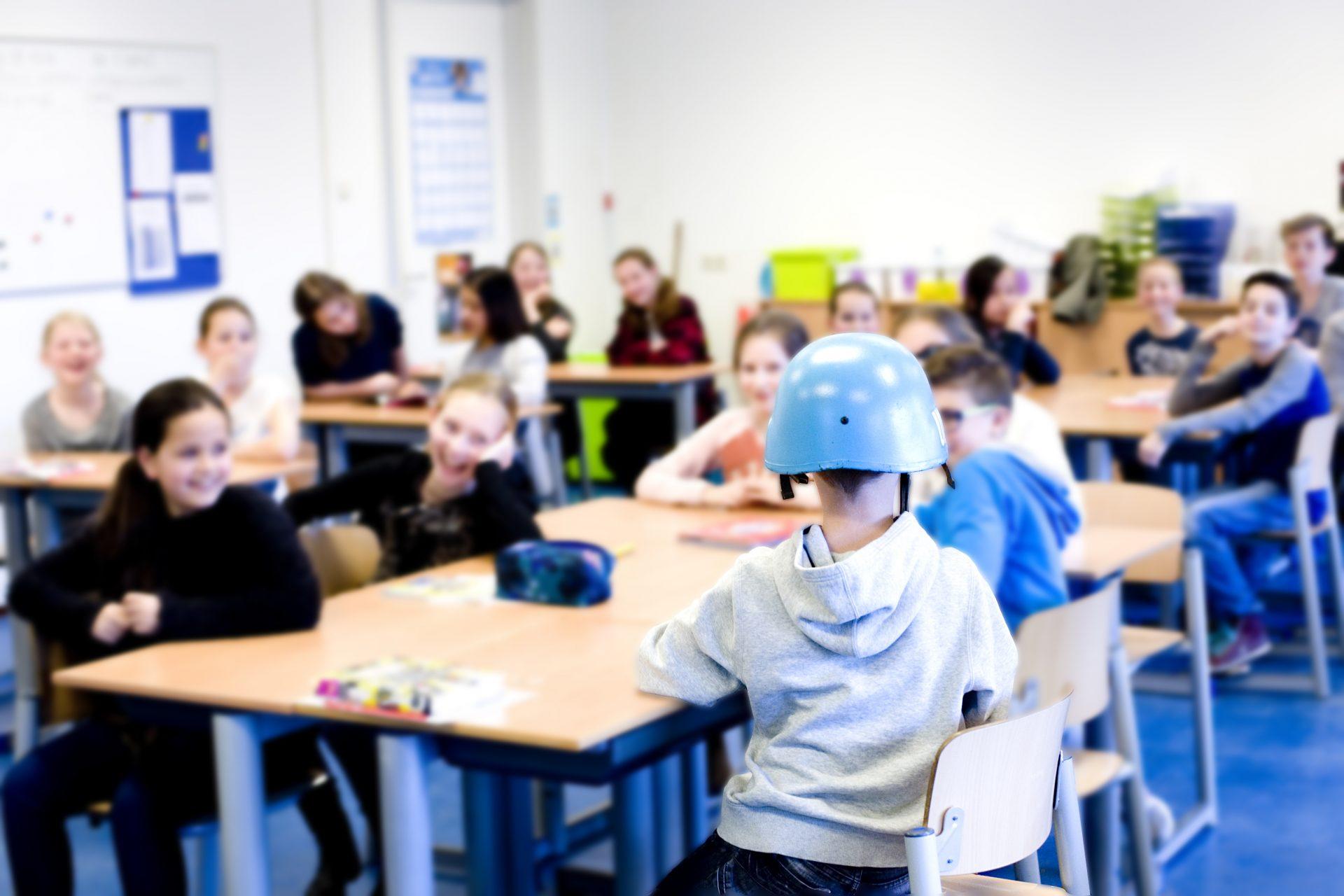 veteraan in de klas