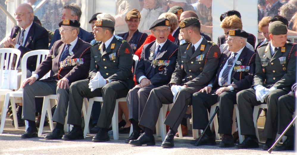 75-jaar-d-day-herdenking-arromanches-prinses-irene-brigade-veteranen