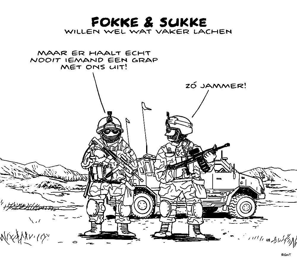 fokke-sukke-militairen-humor